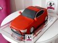 tort-marzenie-3d-auto-mustang