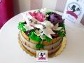 tort-marzenie-3d-kwiaty