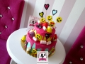 tort-marzenie-drip-cake-candy-faces