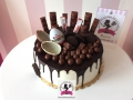 tort-marzenie-drip-cake-kinder-niespodzianka