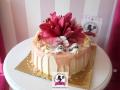 tort-marzenie-drip-cake-kwiaty-3