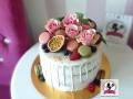tort-marzenie-dripcake-kwiaty