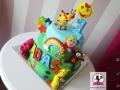 tort-marzenie-roczek-kolorowe-zwierzaki