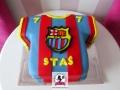 tort-marzenie-koszulka-fc-barcelona-2